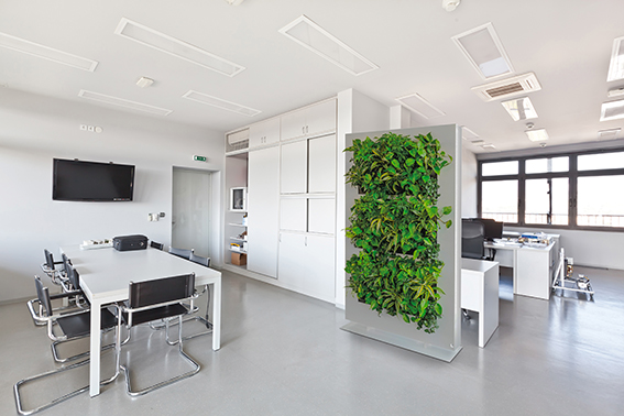 Indoor vertical garden system