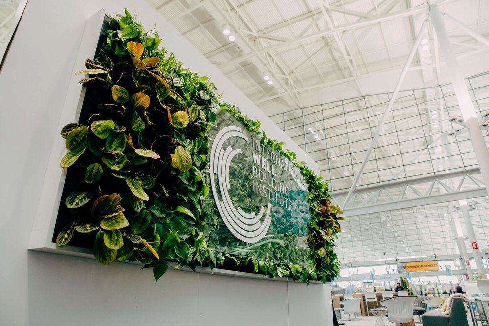 Trade Show Green Wall Design by Suite Plants