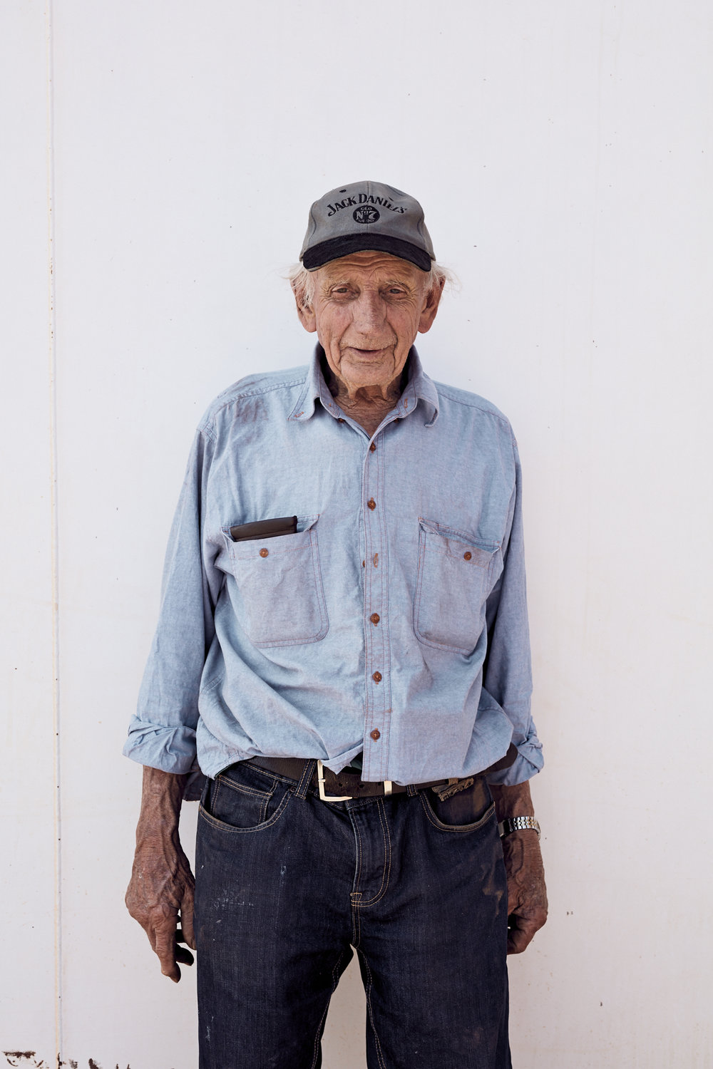 Jack O'Connor - Retired gold miner in Wiluna