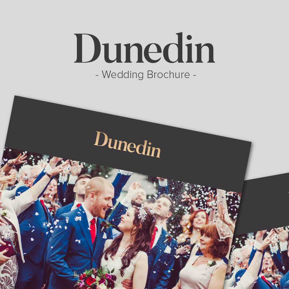 Dunedin wedding brochure