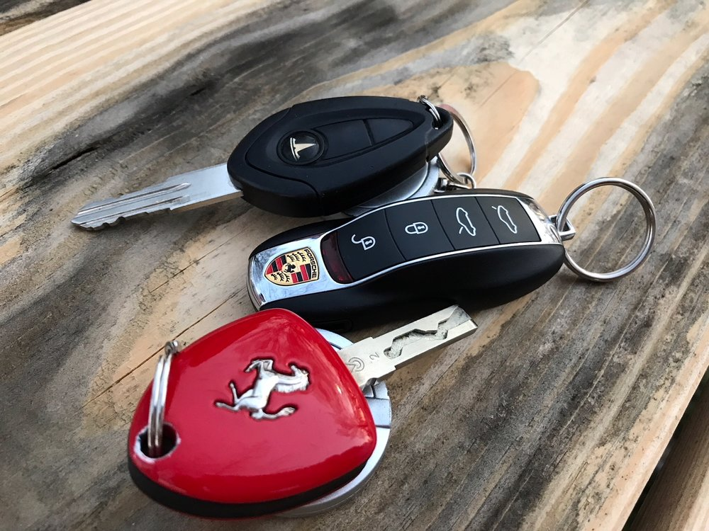 Ferrari Tesla Porsche keys 3.jpg