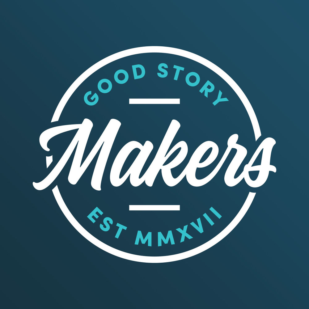 Website & Logo<strong> Good Story Makers</strong>