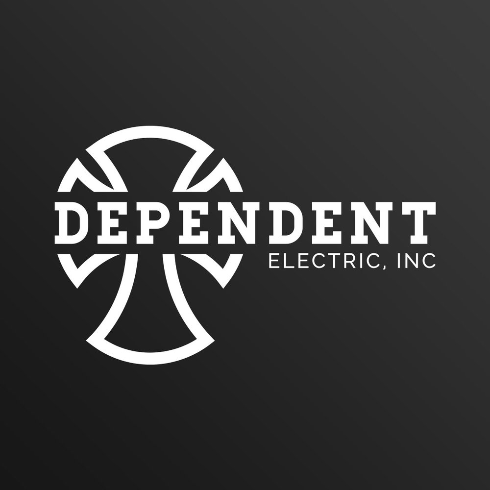 Website & Logo<strong> Dependent Electric</strong>