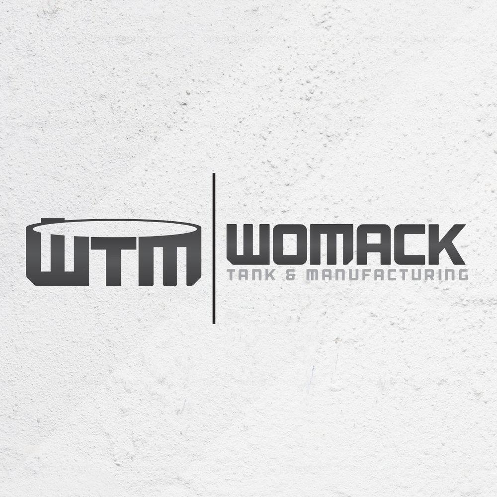 Website & Logo Womack Tank
