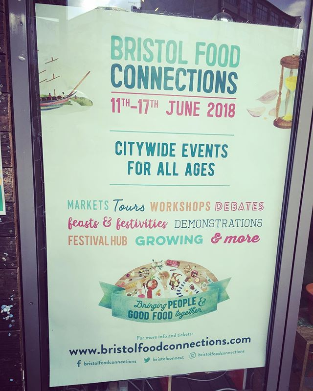 Go @bristolfoodconnections! Our supper club is #soldout but there are tons of wonderful events to get yourself along to all week! #bfc2018 #timetoconnect #hgscbristol