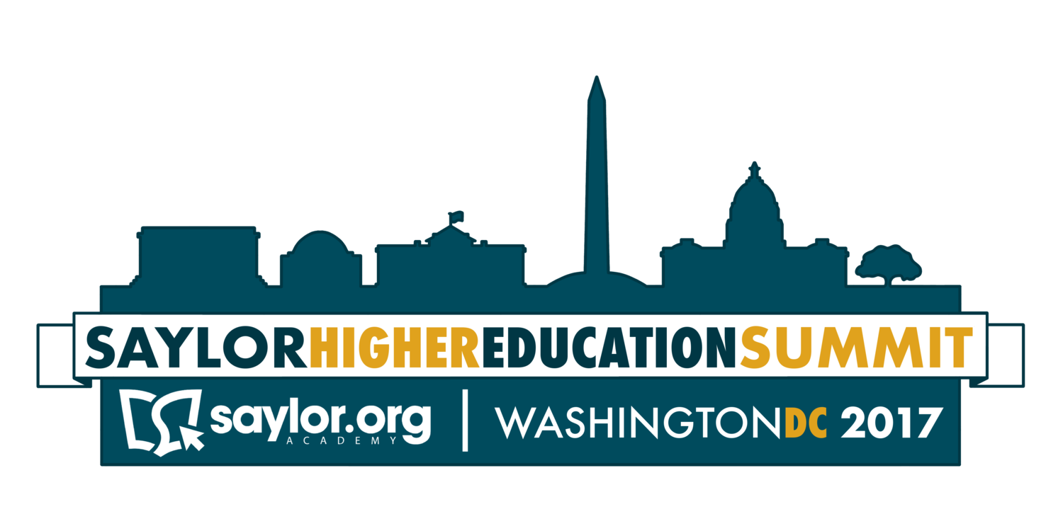 Saylor Academy Higher Education Summit 2017