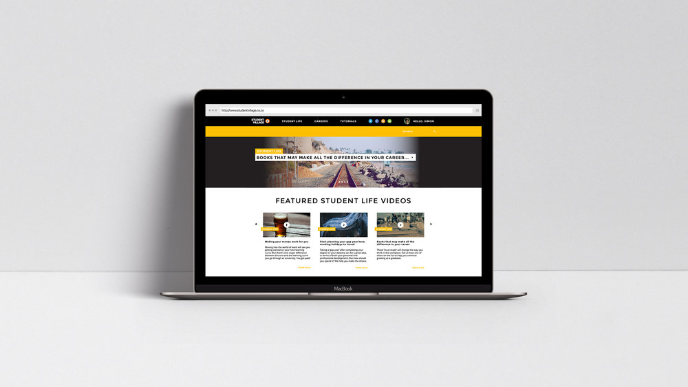 Student Village Website