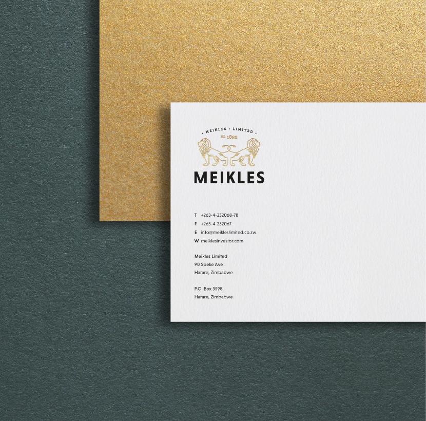 Meikles Brand Identity