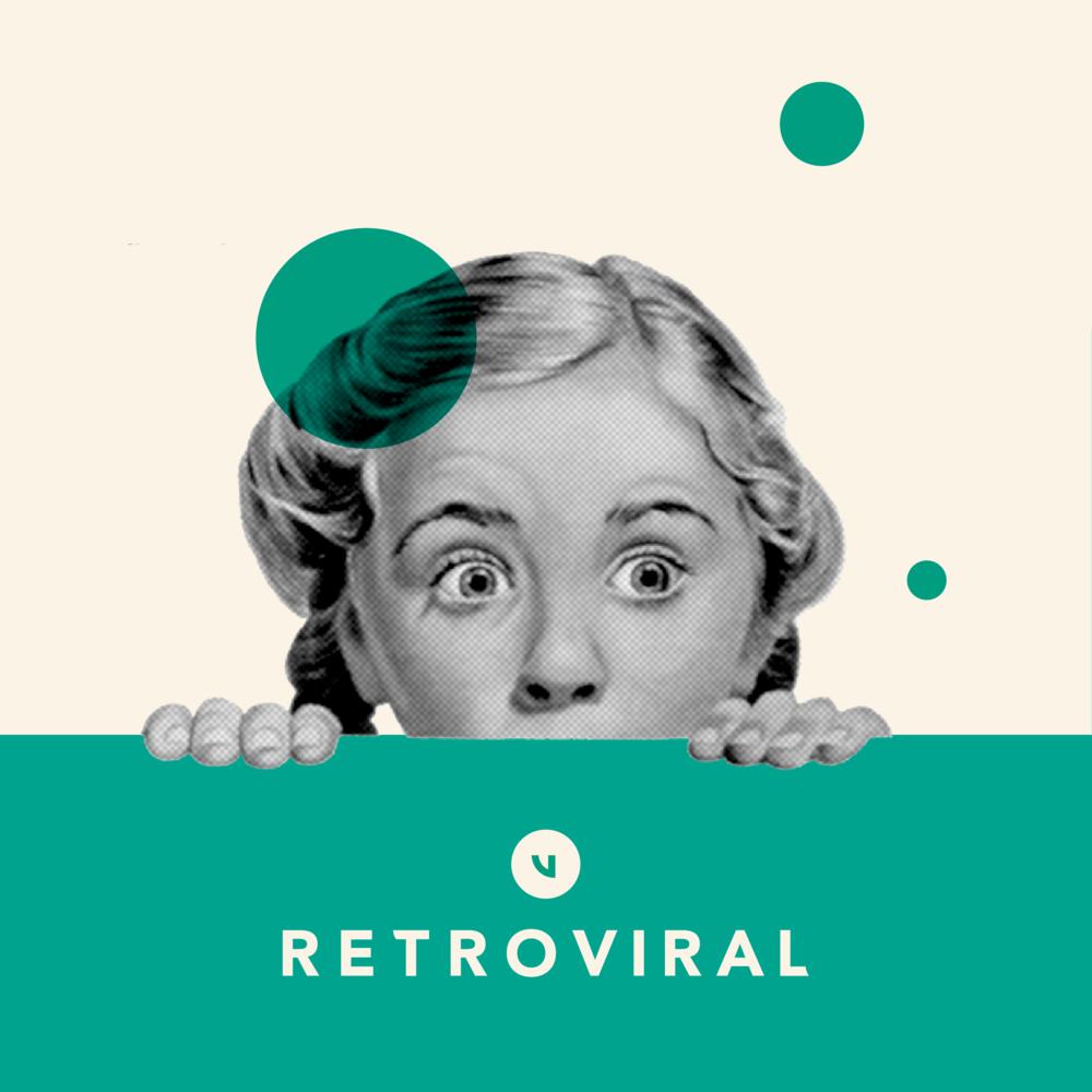 Retroviral Brand Identity