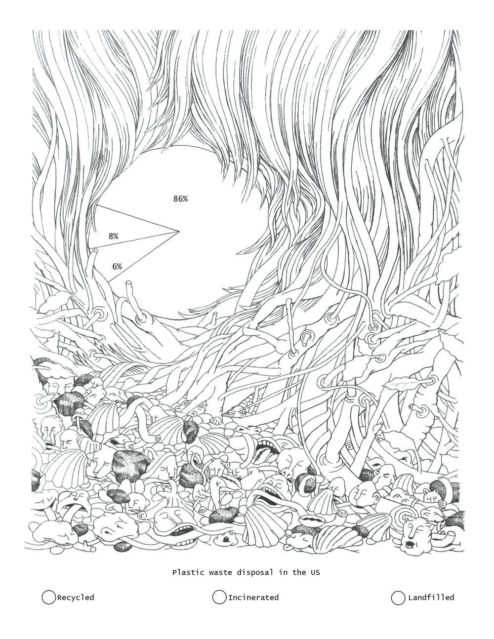 Drawing by Eeva Honkanen