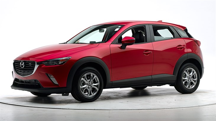 2018 Mazda CX-3 - with optional front crash prevention and specific headlights