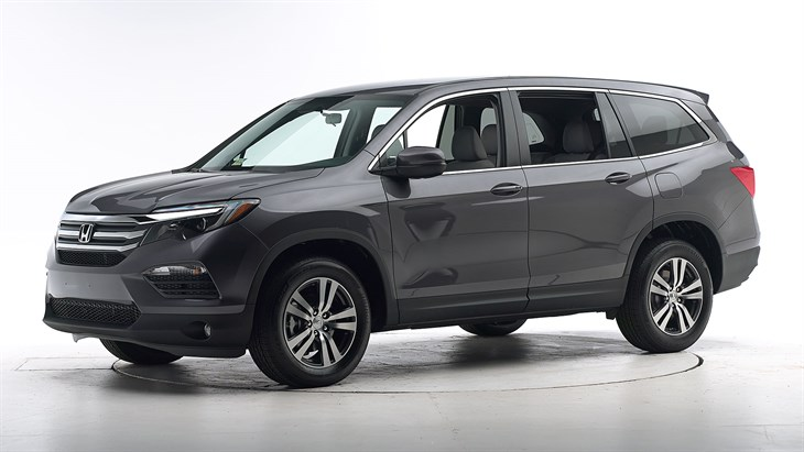 2018 Honda Pilot - with optional front crash prevention and specific headlights