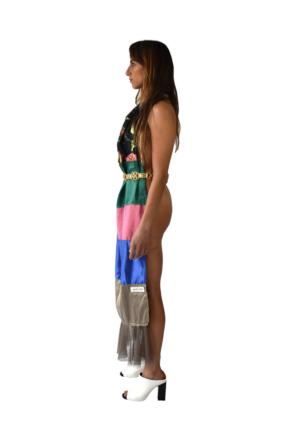 ALTERNATIVE DOMESTICITY APRON DRESS