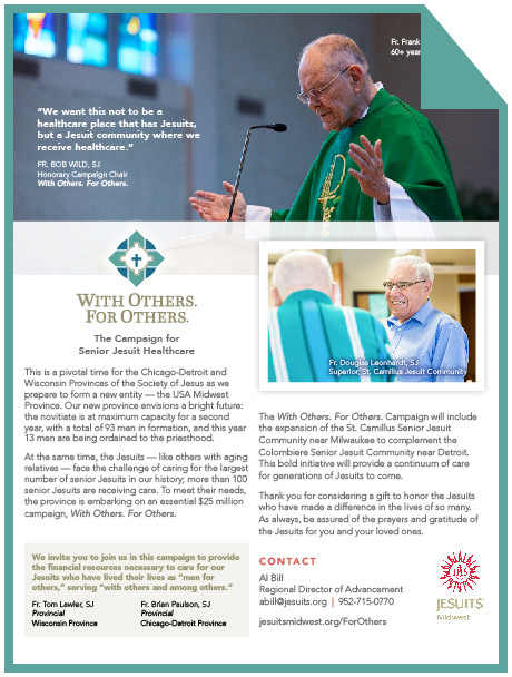 Contact Al Bill   Regional Director, Twin Cities abill@jesuits.org | 952.715.0770
