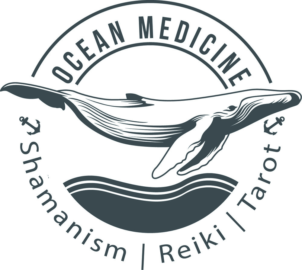 """Ocean Medicine was created to remind us of the deep & profound healing that can occur at the Waters Edge."""