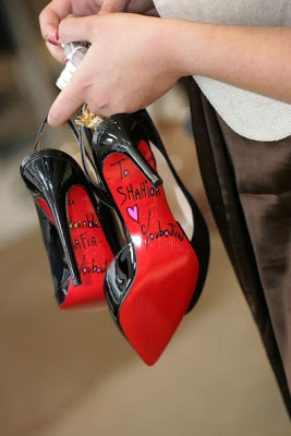 christian louboutin shoe signing events