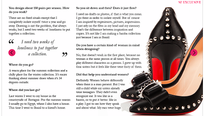 179178e69c5b Check out the entire interview here  Savoir Flair - Christian Louboutin