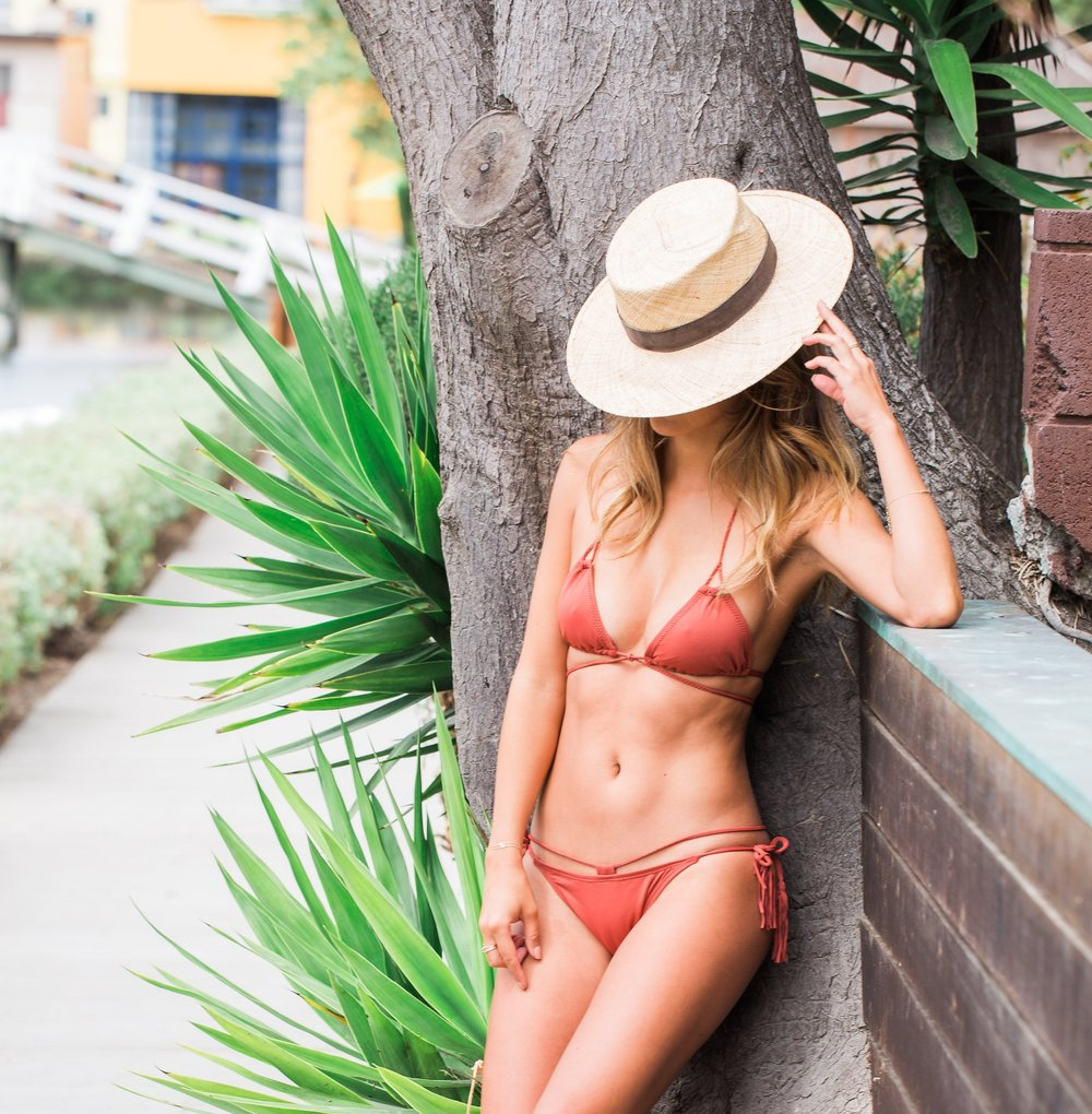 lulus bikini, venice canals, where to play in venice beach