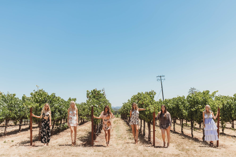 Wine Country with Lauren Bushnell, Amanda Stanton, and Sarah Vendal