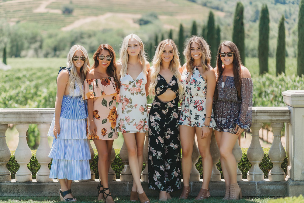 Planning wine trip in Sonoma. Everyday Pursuits, Lauren Bushnell, Amanda Stanton, and Stylist LA
