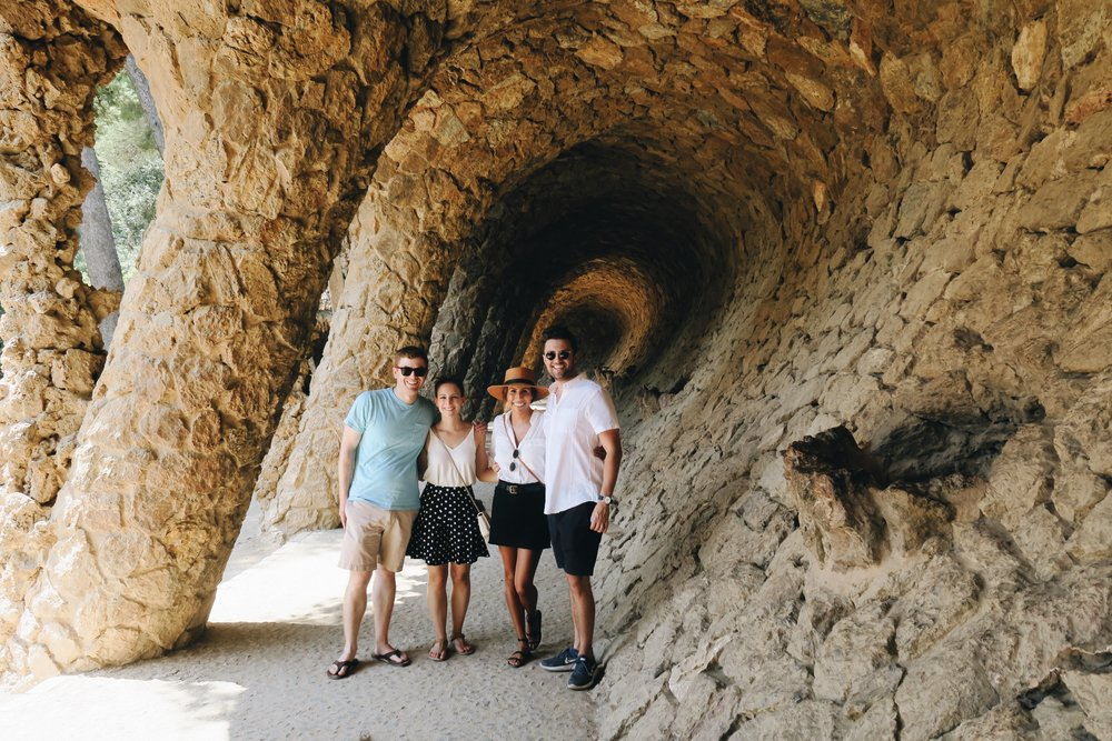 48 hours in Barcelona? Stop at Park Guell!