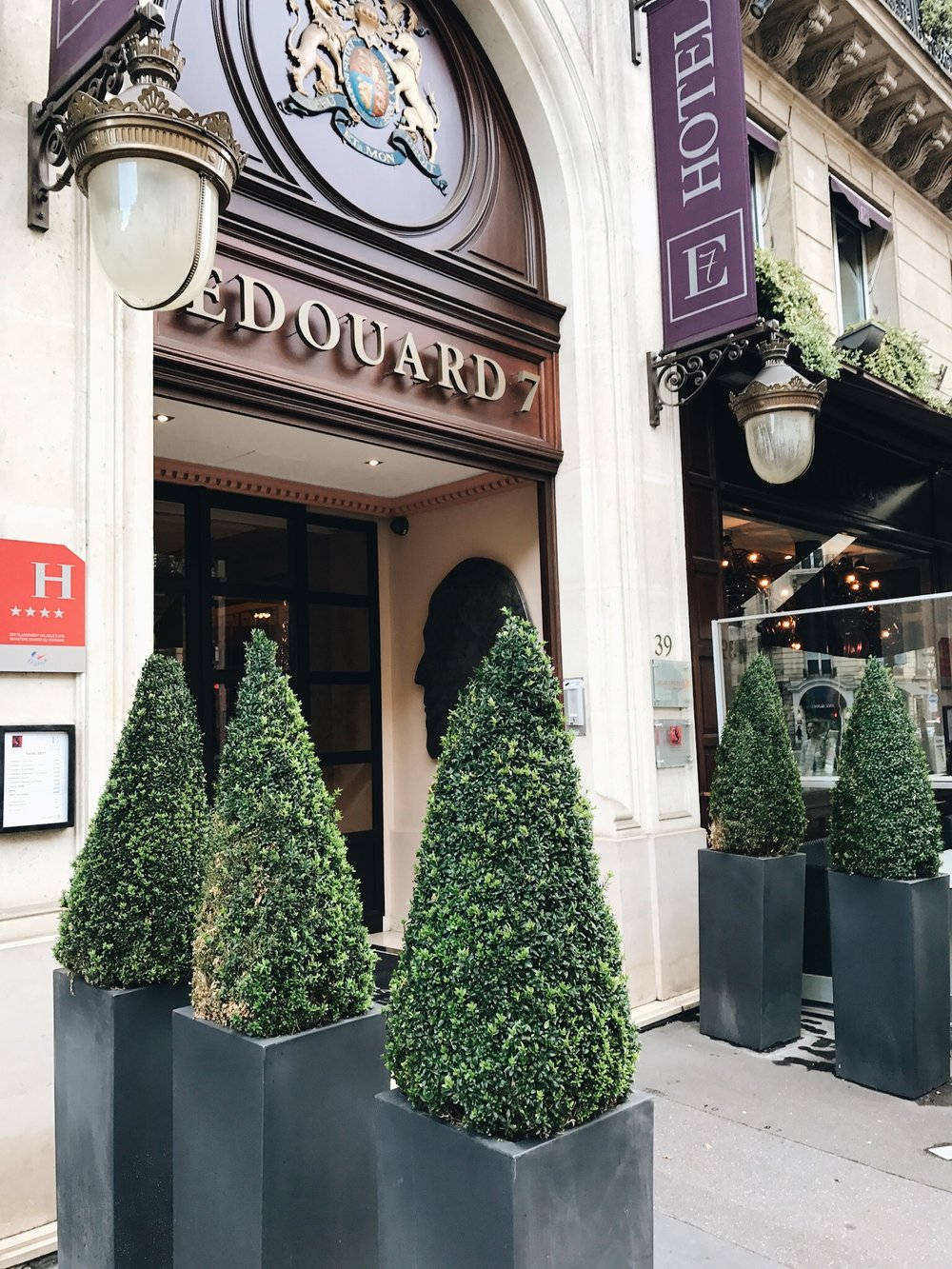 Hotel Edouard 7, Paris - Everyday Pursuits