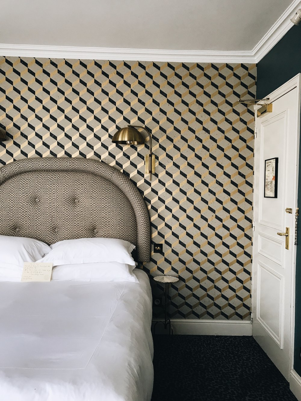 Grand Pigalle Hotel Room