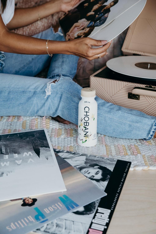 the easiest afternoon snack: drink Chobani