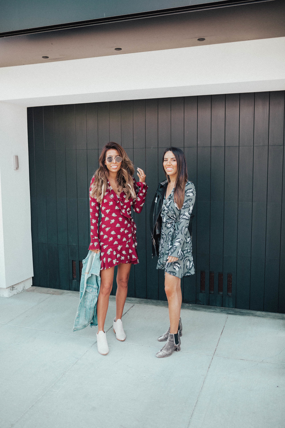 casual fall vibes in The Stylist LA dress rentals