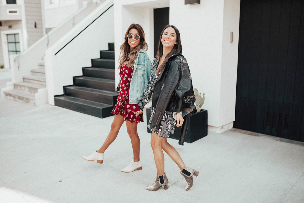 Everyday Pursuit and Ariana Lauren in San Francisco wearing the Stylist LA