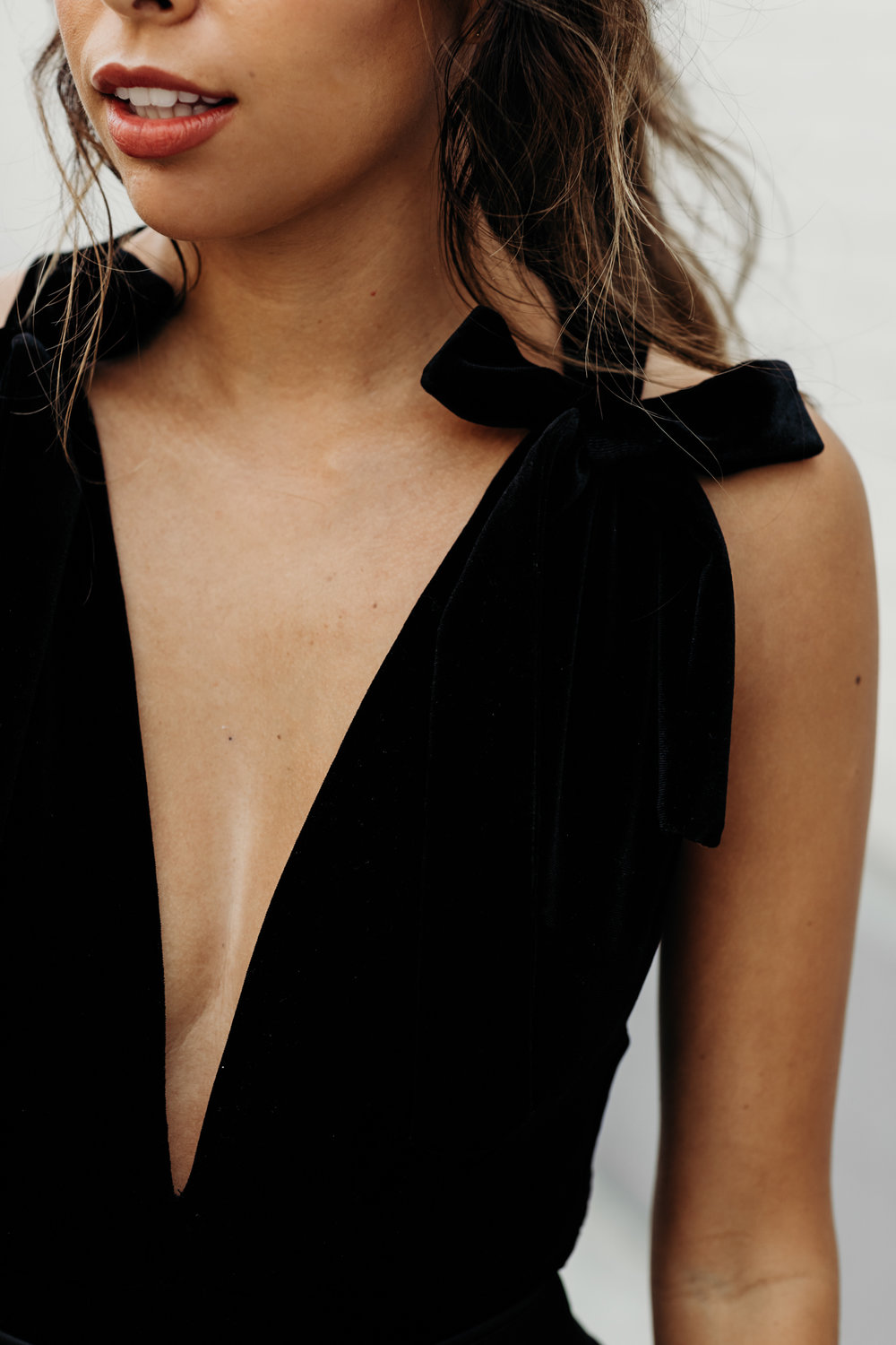 black velvet bodysuit for holiday, holiday outfit ideas
