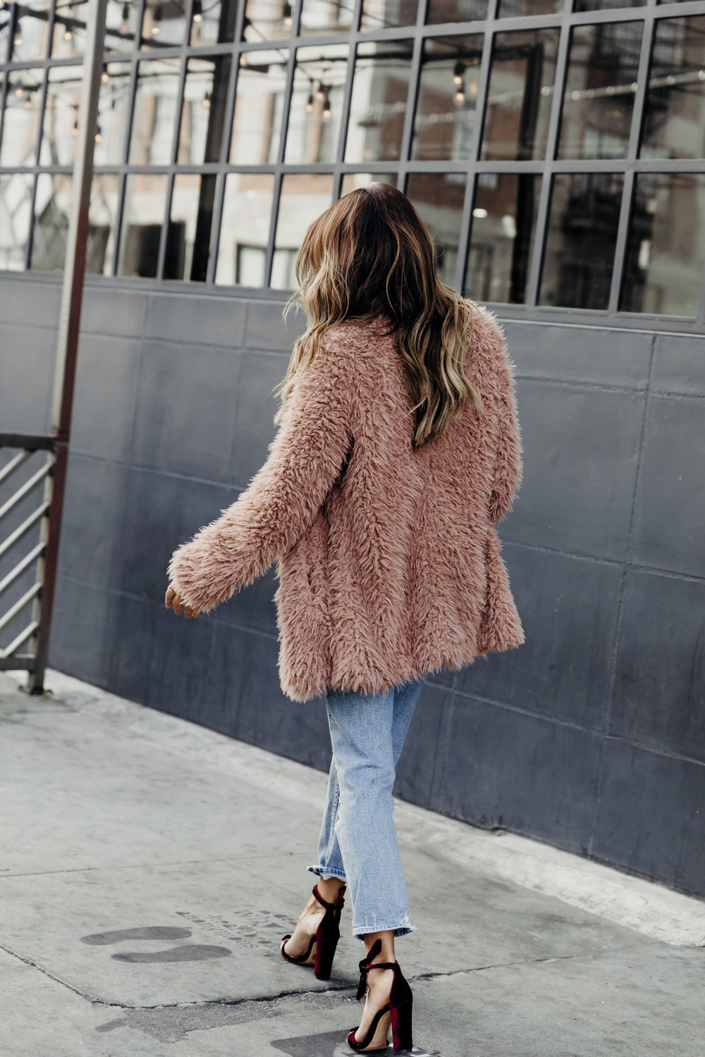 fuzzy sweater outfit, friendsgiving outfit ideas