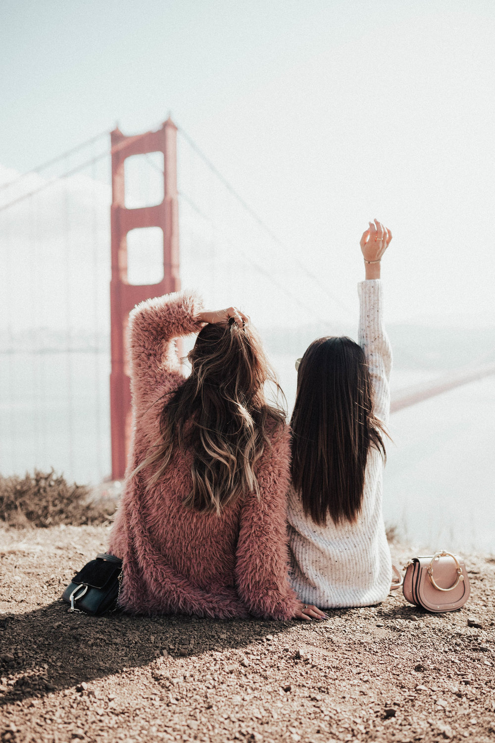 great Golden Great Bridge look out point, San Francisco, Everyday Pursuit Ashley Torres