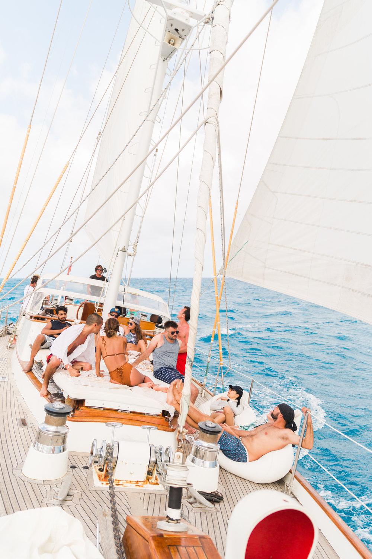 Everyday Pursuits, Balance Haiti Sailboat, Haiti trip