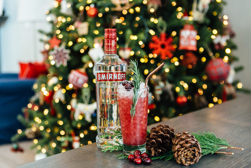 Smirnoff Holiday Cocktail
