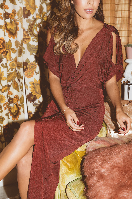 Easy dress for NYE: ASTR Kiera dress from The Stylist LA