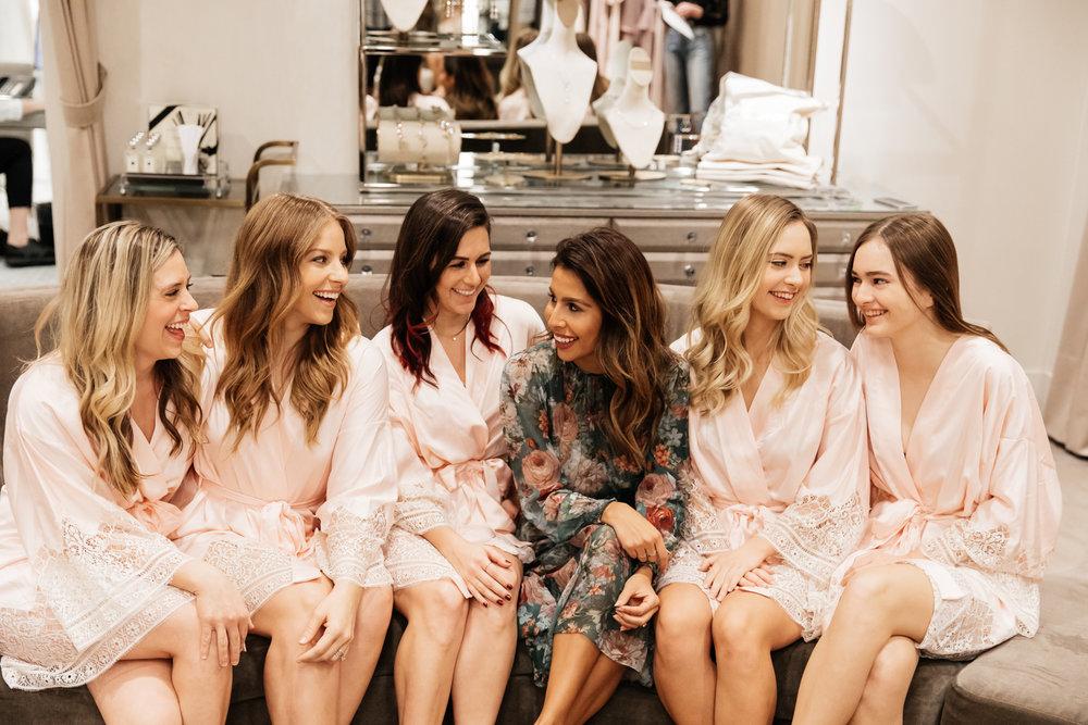 Bridesmaids Dress Shopping at Nordstrom Topanga with WAYF