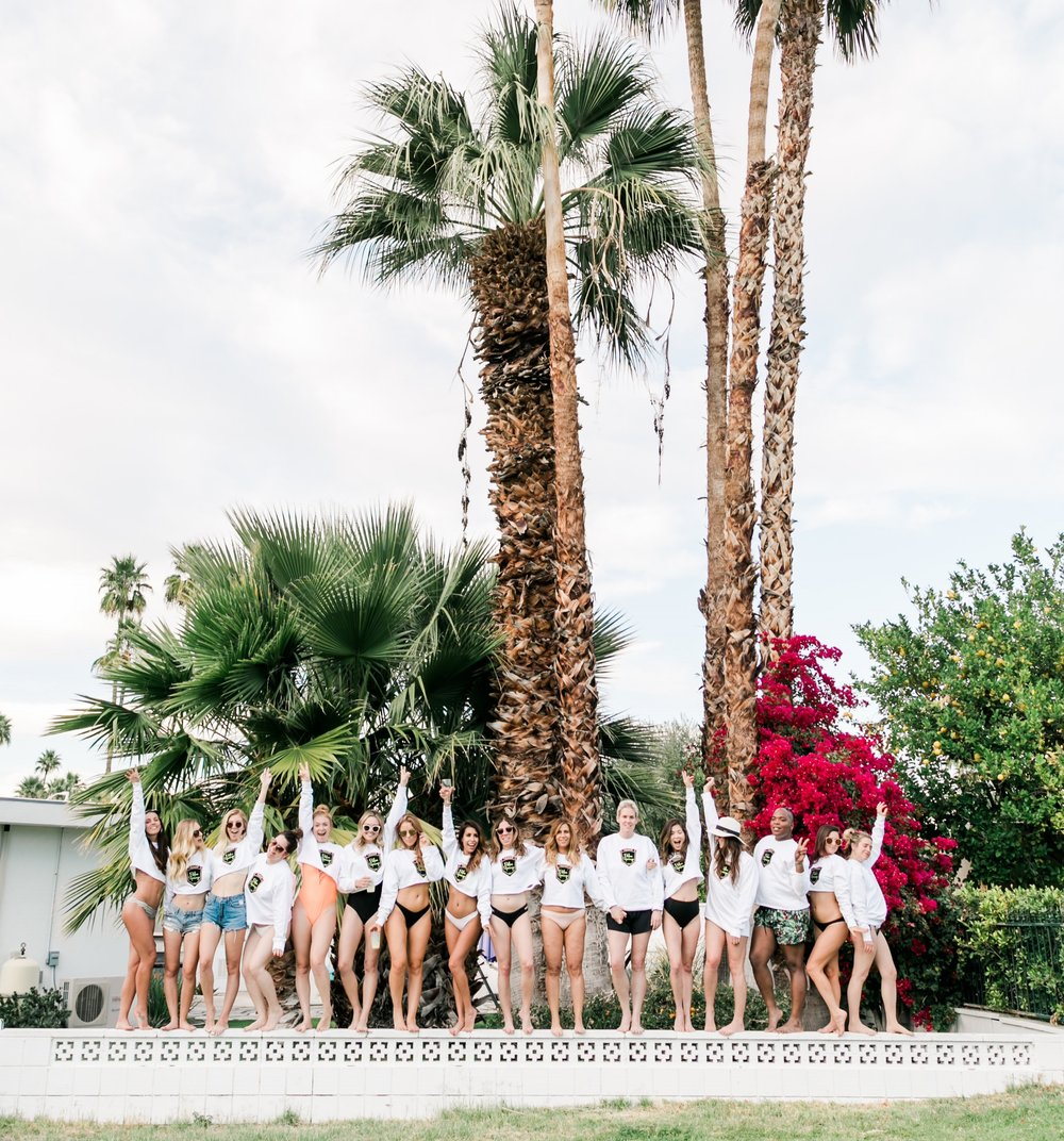 Epic Palm Springs Bachelorette Party -