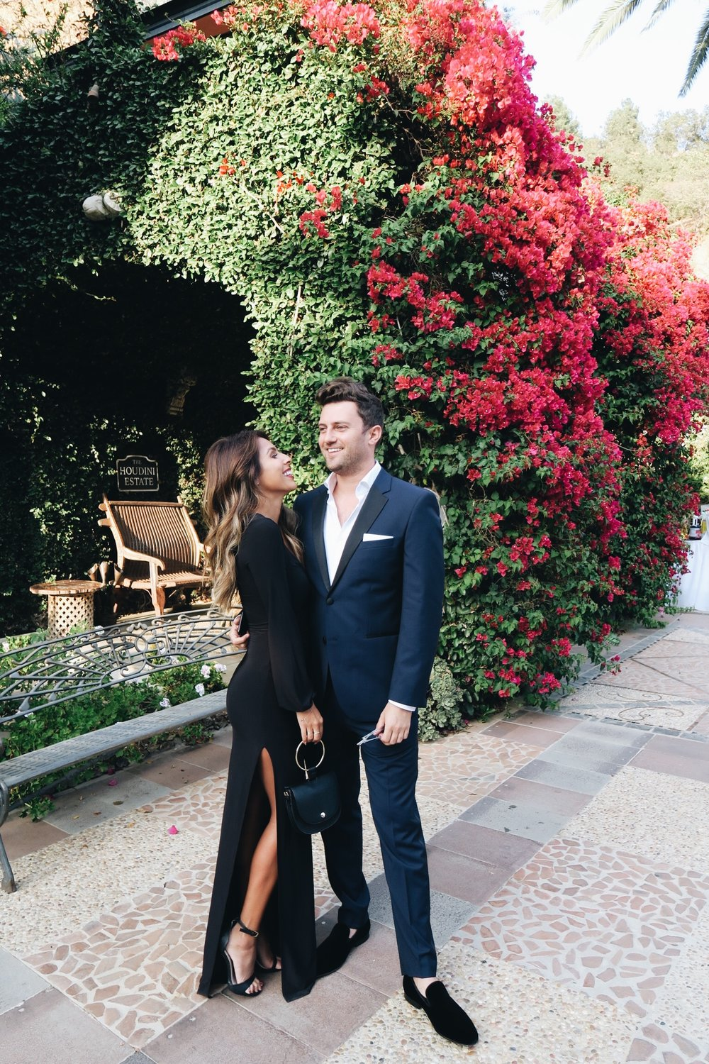 Ashley + Andy Outdoor LA Wedding Outfit