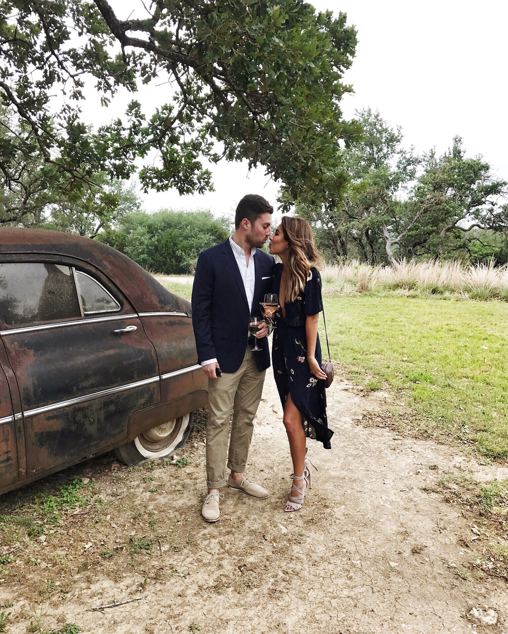 Andy + Ashley Wedding Guest Look - Rustic Farm Wedding