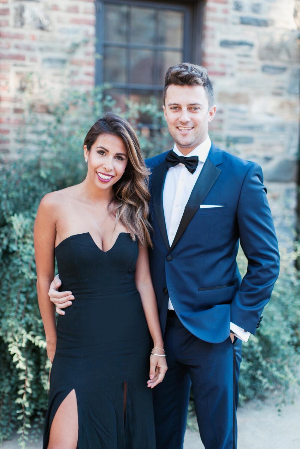 Ashley + Andy Black Tie Wedding: Blue Hill Stone Barns