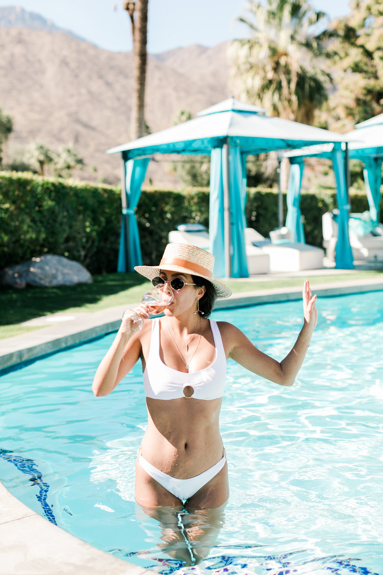 the cutest white bikinis for yourbachelorette + honeymoon -