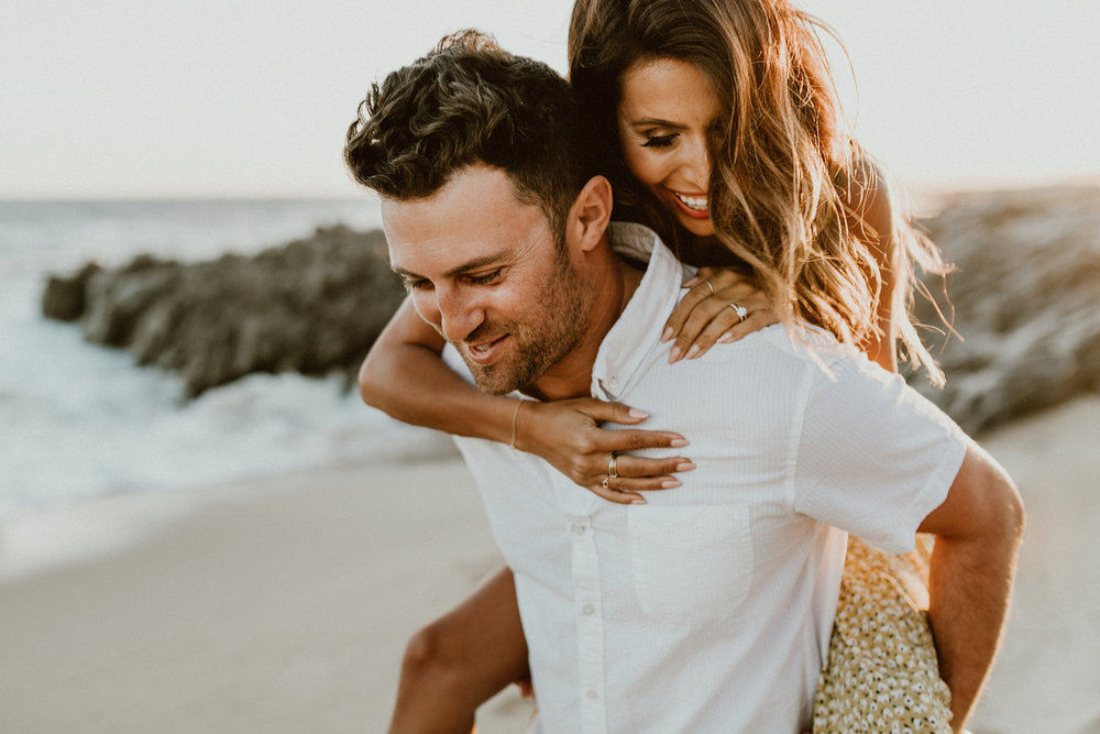 Beach Engagement Shoot Ideas: Everyday Pursuits with Gina + Ryan Photo