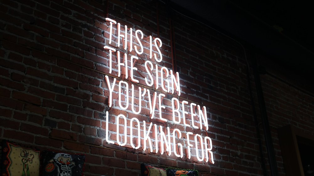 This is the sign you've been looking for! Make that career change.