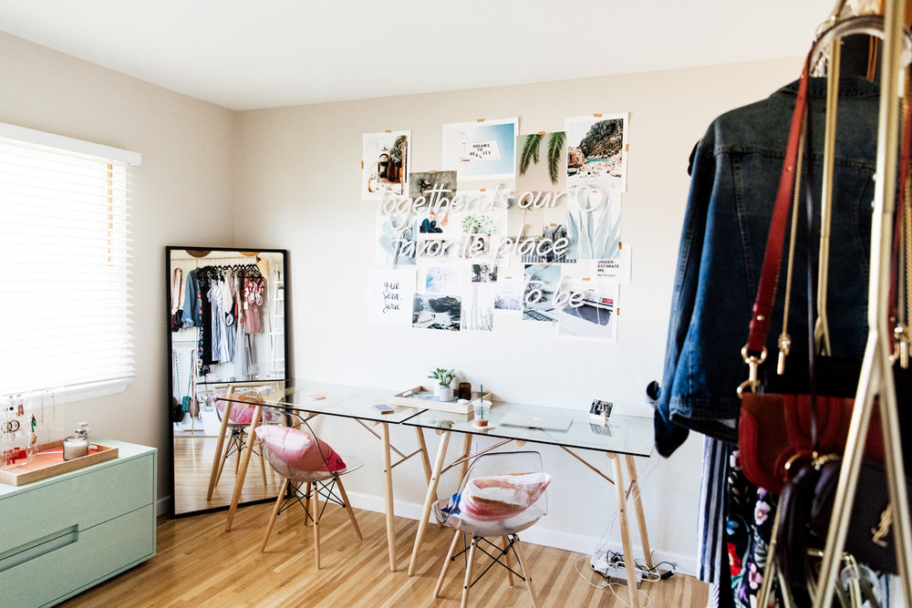 Home Office + Closet Inspiration from Ashley Torres of Everyday Pursuits