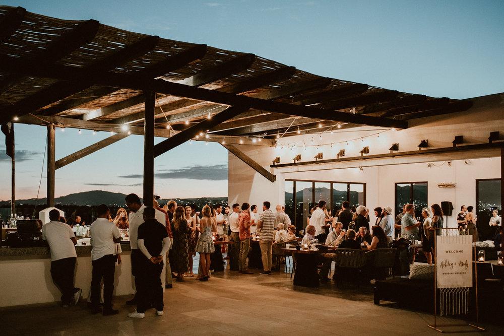Andy + Ashley's Los Cabos Wedding Weekend - Welcome Party at El Ganzo Hotel