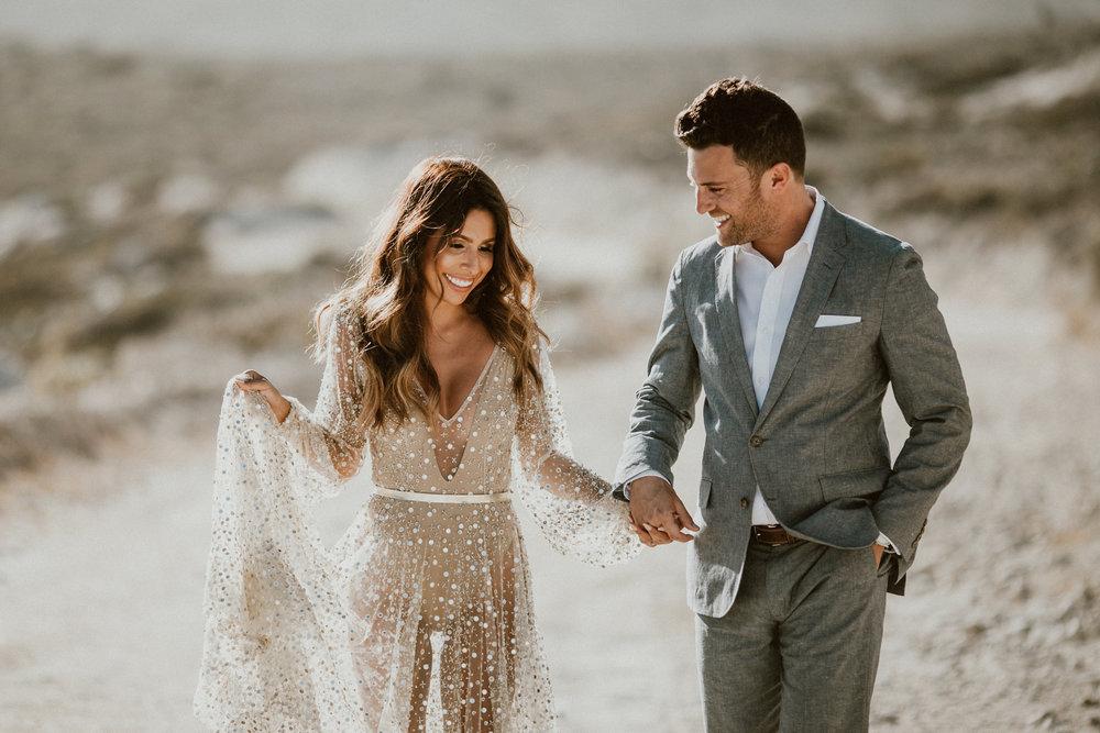 Post Wedding Photoshoot Ideas - Glamorous Beach Shoot in Los Cabos, Mexico | Gina + Ryan Photo