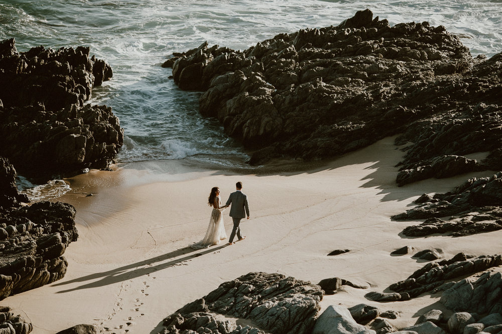 Glamorous Nala Dress by Chosen by One Day Bridal - Post Wedding Photoshoot in Los Cabos, Mexico | Everyday Pursuits Ashley + Andy