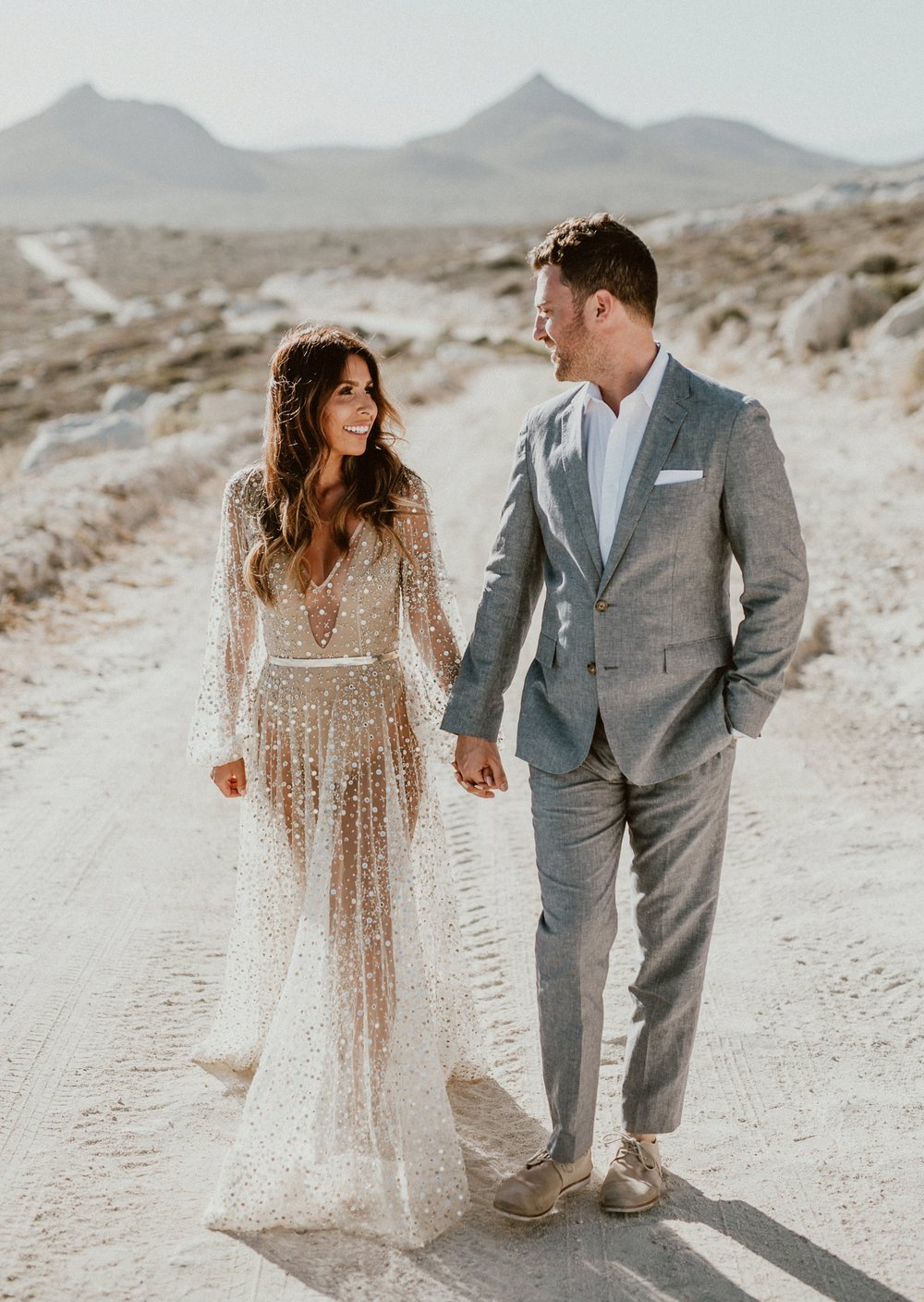 Nala Dress by Chosen by One Day Bridal - Post Wedding Photoshoot in Los Cabos, Mexico | Everyday Pursuits Ashley + Andy