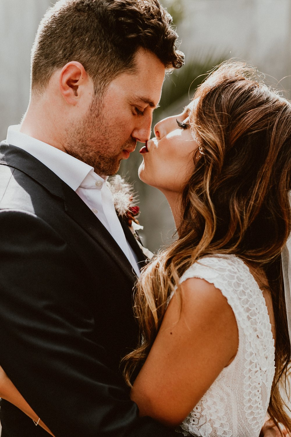 The best skincare regimen for clear, glowing skin on wedding day. Ashley + Andy Wedding ACRE Baja.